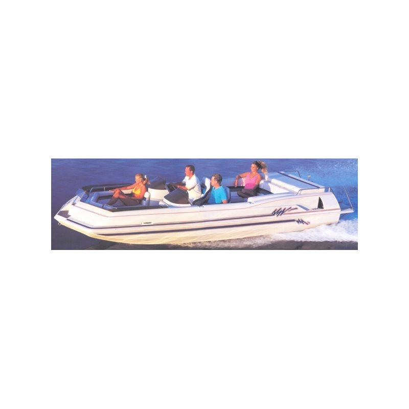 Deck Boats - Inboard/Outdrive With Low Rails