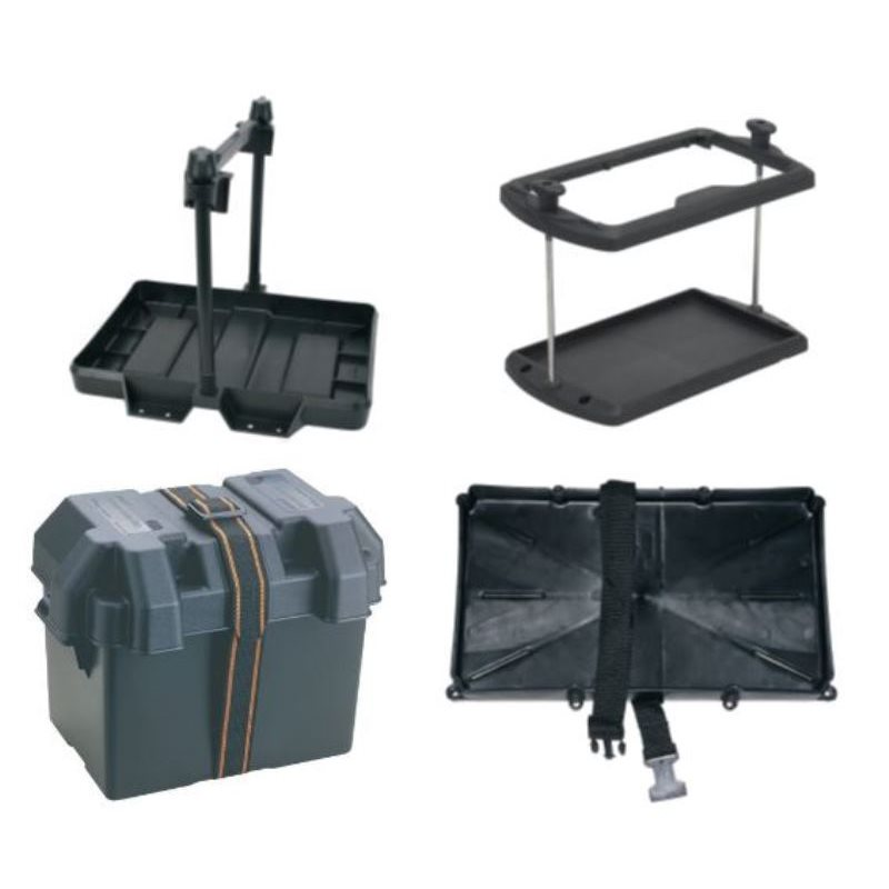 Battery Boxes, Trays & Hold Down Straps
