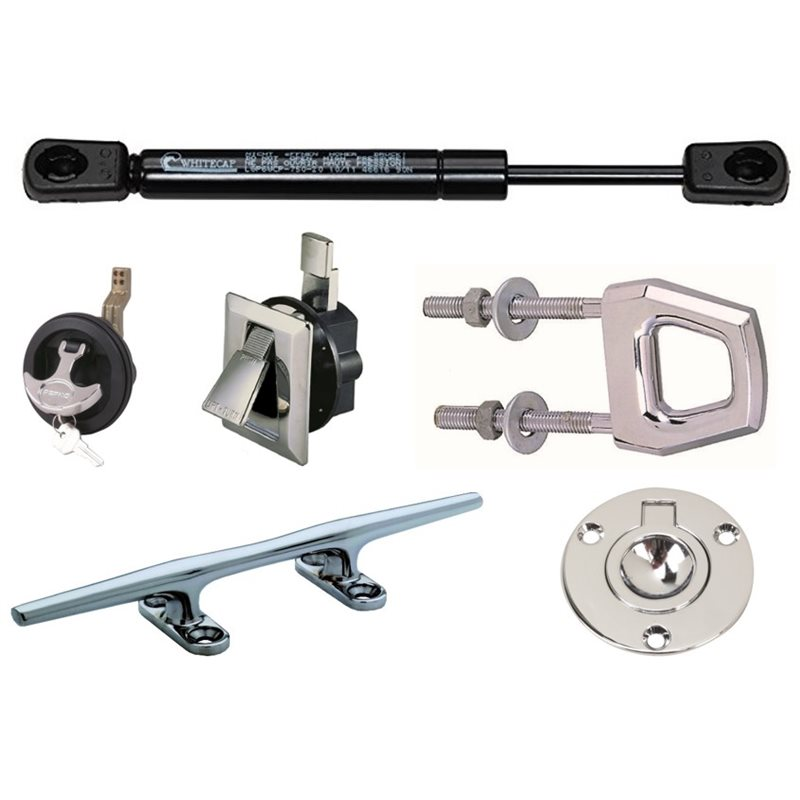 Gas Springs, Hardware & Cleats