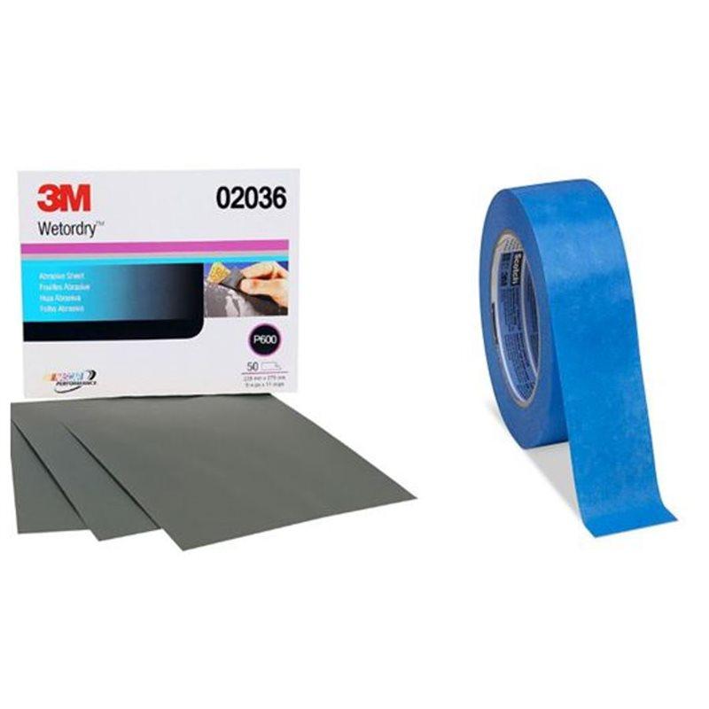 Sandpaper, Tape & Accessories