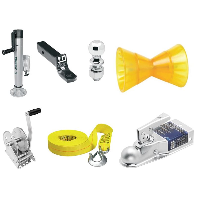 Trailer Jacks, Winches, Balls & Hitch Accessories