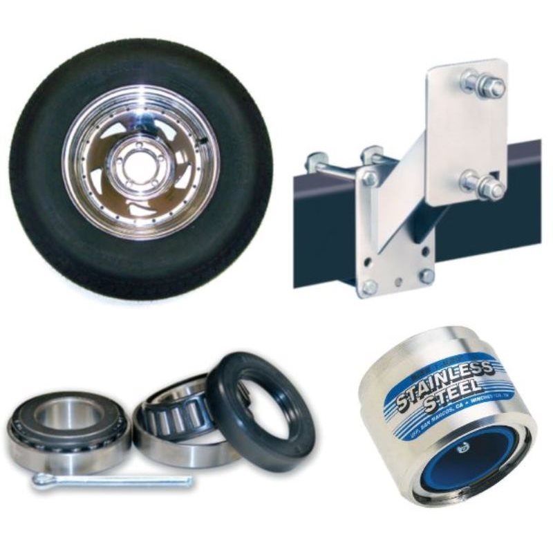 Wheels, Tires, Bearings & Towing Accessories