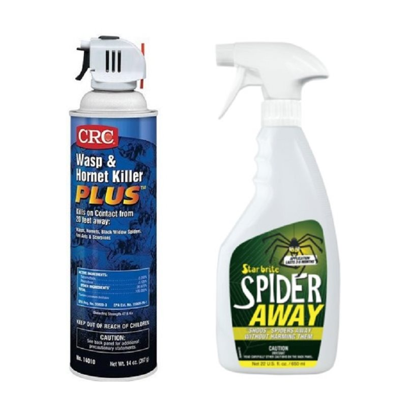 Wasp Killer and Spider Away