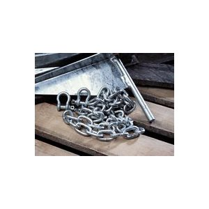 TIE DOWN 95130 1 / 4in X 6ft ANCHOR CHAIN & SHACKLE