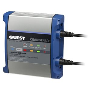 GUEST 2708A 5 AMP 1 BANK CHARGER