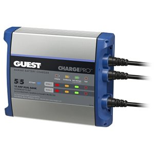 GUEST 2711A 10 AMP 2 BATTERY BATTERY CHARGER