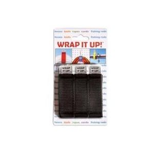 AIRHEAD WR-123BK WRAP IT UP! BLACK ROPE & CORD ORGANIZER
