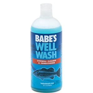 BABE'S BB8432 WELL WASH LIVE WELL CLEANER AND CONDITIONER - 32oz