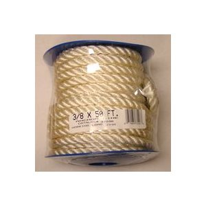 ATTWOOD 11707-7 TWISTED NYLON ANCHOR LINE 3 / 8in x 50ft